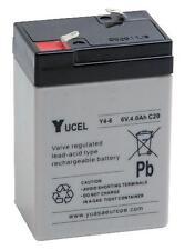 BATTERY LEAD ACID 6V 4AH YUCEL Batteries Rechargeable