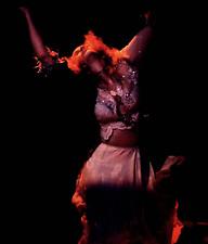 8x10 (after matting) matted, Stevie Nicks concert photograph + replica stub