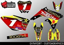 SUZUKI RMZ 450 2008-2017 FULL CUSTOM GRAPHICS KIT STICKERS MOTOCROSS DECALS MX