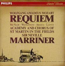 Mozart: Requiem / McNair, Watkinson, Araiza, Lloyd; Marriner, New Music