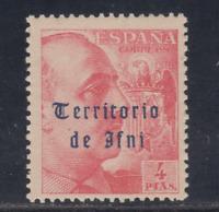 IFNI (1948/49) NUEVO SIN FIJASELLOS MNH - EDIFIL 54 (4 pts) FRANCO - LOTE 2