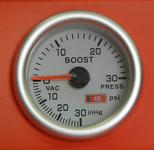 S2 52mm Turbo Boost gauge 30 Psi Audi A3 A4 A6 TT Petrol/Diesel Turbo