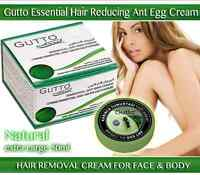 New Gutto Ant Egg Cream Permanent Hair Reducing Organic Removal Unwanted 50ml L