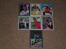 LOT OF (14) DIFFERENT CHICAGO WHITE SOX SIGNED AUTOGRAPHED BASEBALL CARDS STARS+