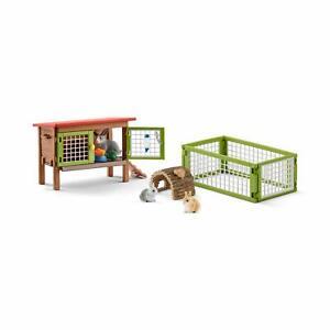 Schleich Farm World - Rabbit Hutch - 42420 - Authentic - New