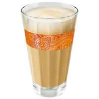 TASSIMO by WMF Chai Latte Glas 250 ml mit Muster in Füllhöhe