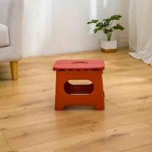 Portable Plastic Small Japanese Minimalist Folding Stool For Outdoor Bench