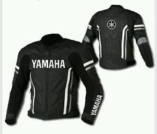 Men's YAMAHA Black Color Racing Biker Motorcycle Leather Jacket
