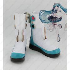 Anime Magical Mirai Hatsune Miku Cosplay Boots Shoes