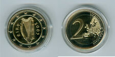 Irland  2 Euro Kursmünze PP  (Wählen Sie unter: 2007, 2009, 2012, 2015 und 2019)