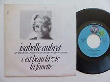 ISABELLE AUBRET C est beau la vie JEAN FERRAT La fanette JACQUES BREL 10051 RTL