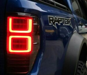 Ford Ranger Wildtrak XLT XLS FX4 MAX XL Raptor LED Tail Lights 2018-2021