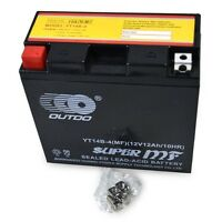 YT14B-BS YT14B-4 12V Motorcycle Battery for Yamaha XVS1100 MT-01 Hyosung GV650