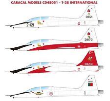 Caracal 1/48 International Northrop T-38A # 48051