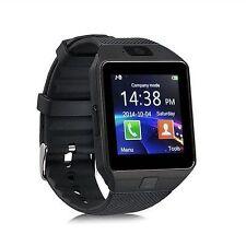 Premium SmartWatch DZ09 Schwarz Uhr Bluetooth iOS Android Samsung SIM Kamera