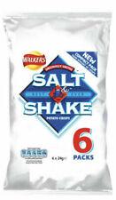 Walkers Salt N Shake Crisps *Less Salt Healthy Snacks*   48 Packets   24g  
