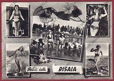 MONDINE 172 MONDARISO RISO RISAIA Elsa MARTINELLI FILM - REAL PHOTO viagg. 1956