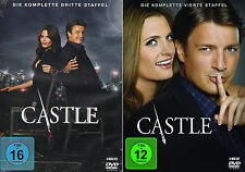 Castle - Die komplette 3. + 4. Staffel (Nathan Fillion)                DVD   255