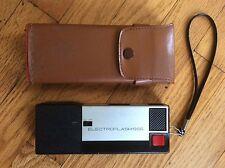 Vintage Camera Electroflash 555 Continenta 110 Camera with Case Belt Clip Retro