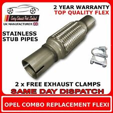 Opel Combo 1.7 CDTI 2004-11 Exhaust Repair Flexi Flex Replacement for Cat Pipe