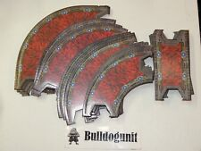 Legend of Nara Battle Arena Straight & Curved Cardboard Track Pieces Only 2010