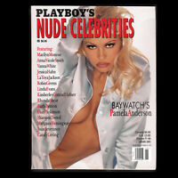 Playboy's Special Edition Nude Celebrities (1995) Pam Anderson Cover (Very Good)
