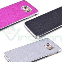 Custodia GLITTER per Samsung Galaxy S6 Edge G925F cover case strass brillantini