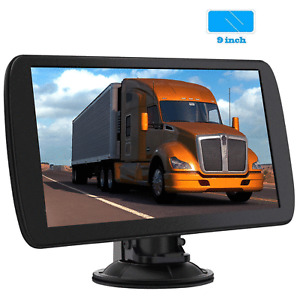 "9"" 256MB 8GB Truck GPS Car GPS Navigation for Car Lorry HGV Sat Nav FM US Maps"