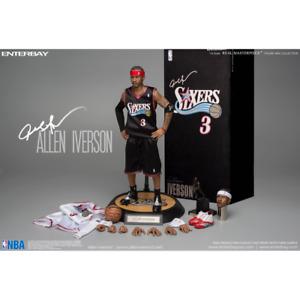 Allen Iverson Enterbay 1/6 Action Figure Real Masterpiece 76ers