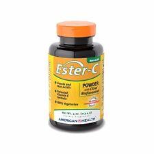 American Health Ester-C Powder w Citrus Bioflavonoids 750mg 4oz FREE US SHIPPING