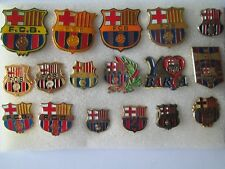 j2 lotto 17 pins lot FUTBOL CLUB BARCELONA FC club spilla football calcio spille