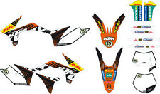 FACTORY WORLD ENDURO GRAPHICS KIT KTM EXC XCW 250 300 350 2012 2013 77508190400