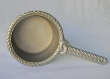 """New listing The Wilton Co. RWP Rope Rimmed Armetale Pewter Sauce Melting Pot  12"""""""