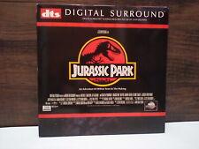 JURASSIC PARK LASER DISC 1993 DTS 2 DISC SET