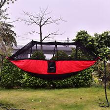 Upgraded Portable Camping Mosquito Net Nylon Hammock Hanging Bed Sleeping Swing