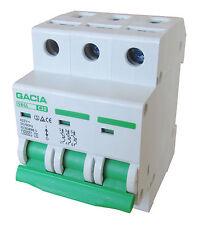 Leitungsschutzschalter GACIA SB6L 3P C10A, Sicherungsautomat MCB