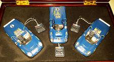 GMP #12401 1/43 Sunoco T70 Lola 3 Car Boxed Set Mark Donohue Penske Racing /2004