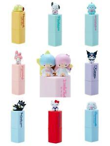 Japan Sanrio Store NEW Lip Balm Kitty, Melody, Cinnamoroll, Kuromi, Pochacco