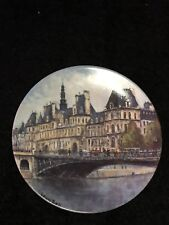 Louis Dali Ltd. Ed. 1983 Collector Plate L'Hotel de Ville de Paris #397