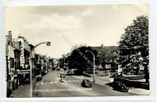 (Ga7579-472) Real Photo of St. Peters Hill & High Street, GRANTHAM c1950 VG