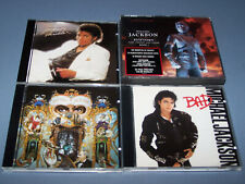 Michael Jackson - 4 Early CD Albums: Thriller, Bad, History & Dangerous