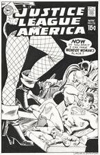 BLACK CANARY Cover Art Recreation pinup sexy pulp legs fishnets Batman Superman