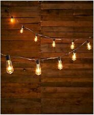 Edison Vintage Style Bulb String Lights Outdoor Patio Clear Garden Home Parties