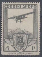 ESPAÑA (1930) NUEVO SIN FIJASELLOS MNH SPAIN - EDIFIL 488 (4 pts) FERROCARRILES