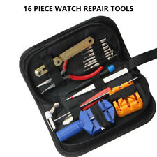 16Pcs Watch Repair Strap Removal Adjustment Back Case Remover Opener Tool  Kit