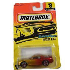 Matchbox Superfast #8 Mazda RX-7 RX7 New Diecast 1/64