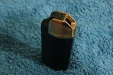 Imco black with gold coloured top, Pipe Lighter G77R working