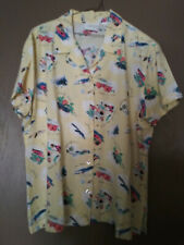 Liz Claiborne Short Sleeve Shirt Size XL extra large Excellent cond