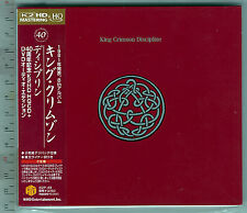 King Crimson , Discipline - 40th Anniversary Series [DVD Audio+HQCD]