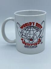 Worlds Best Taker Overer Mug- Pinky and the Brain Coffee Mug Cup